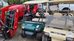 Club car gas golf car