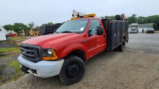 2000 Ford F550 Maintainer