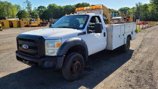 2011 Ford F550 Utility Truck