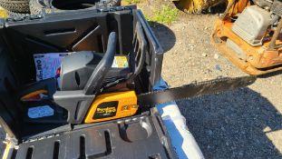 New poulan pro 42cc chainsaw