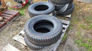 (4) 245/75/16 tires