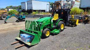 John Deere 2025r Tractor