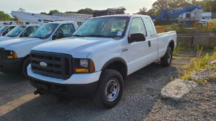 2006 Ford F250 Pickup With Plow