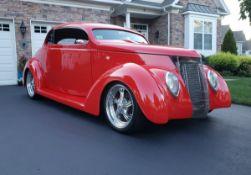 1937 Ford Coupe 2 Door Hardtop Custom Street Rod