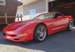 1999 Chevrolet Corvette fixed-roof coupe