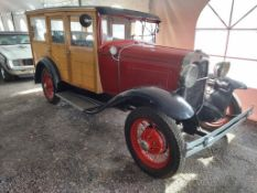 1930 Ford Model A-woodie