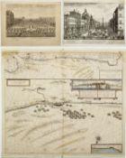 Falda, Giov. Batt. Sylvestre, Isr. u.a. Prospetto della Nobil´ Piazza Navona. Chateau de Fontainblea