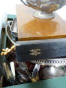 A quantity of silver plate, including an Edwardian centrepiece bowl and a cased set of WMF coffee