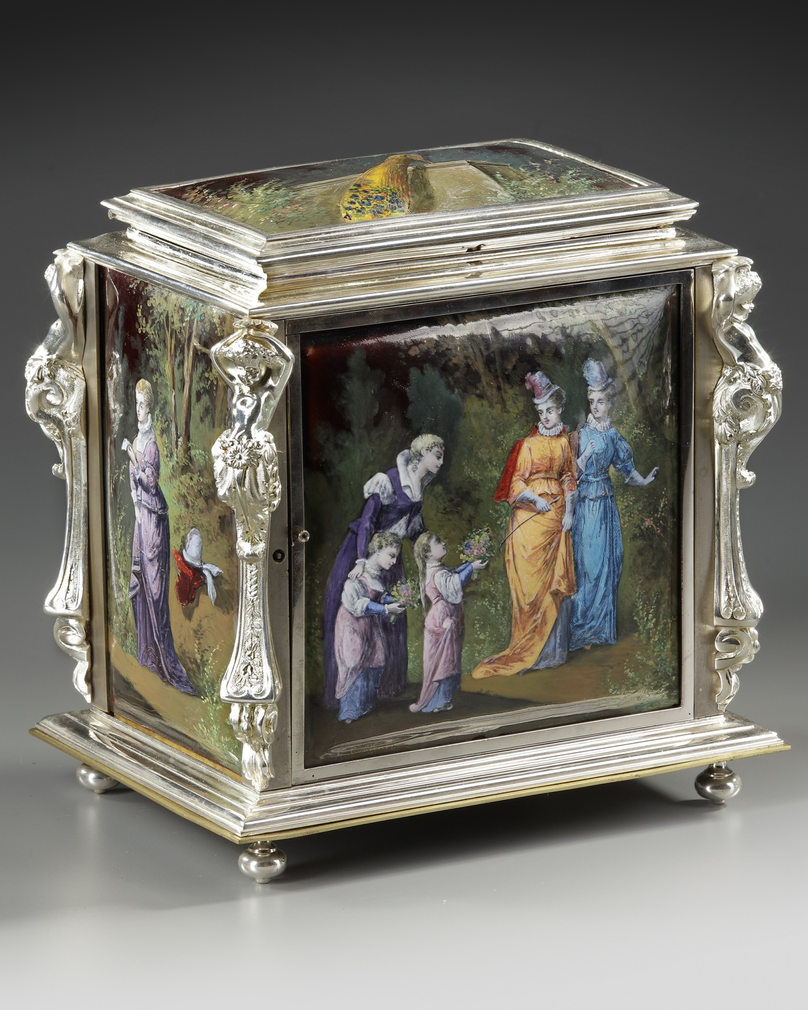 A JEWELRY BOX, FRANCE, LATE 19TH CENTURY