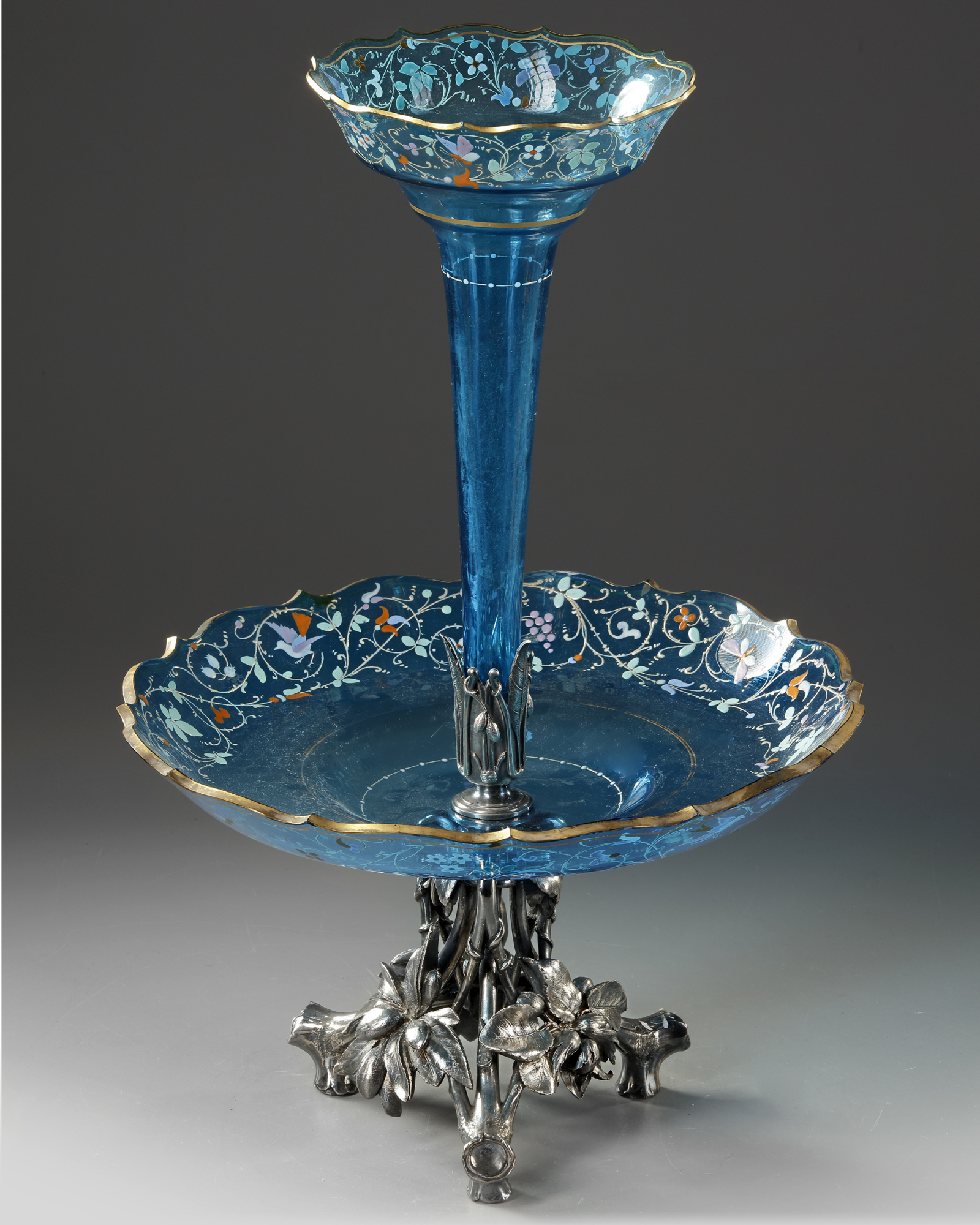 A SOLIFLORE CENTERPIECE, CIRCA 1870 - Image 2 of 4