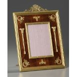 A FRENCH EMPIRE STYLE FRAME, LATE 19TH CENTURY