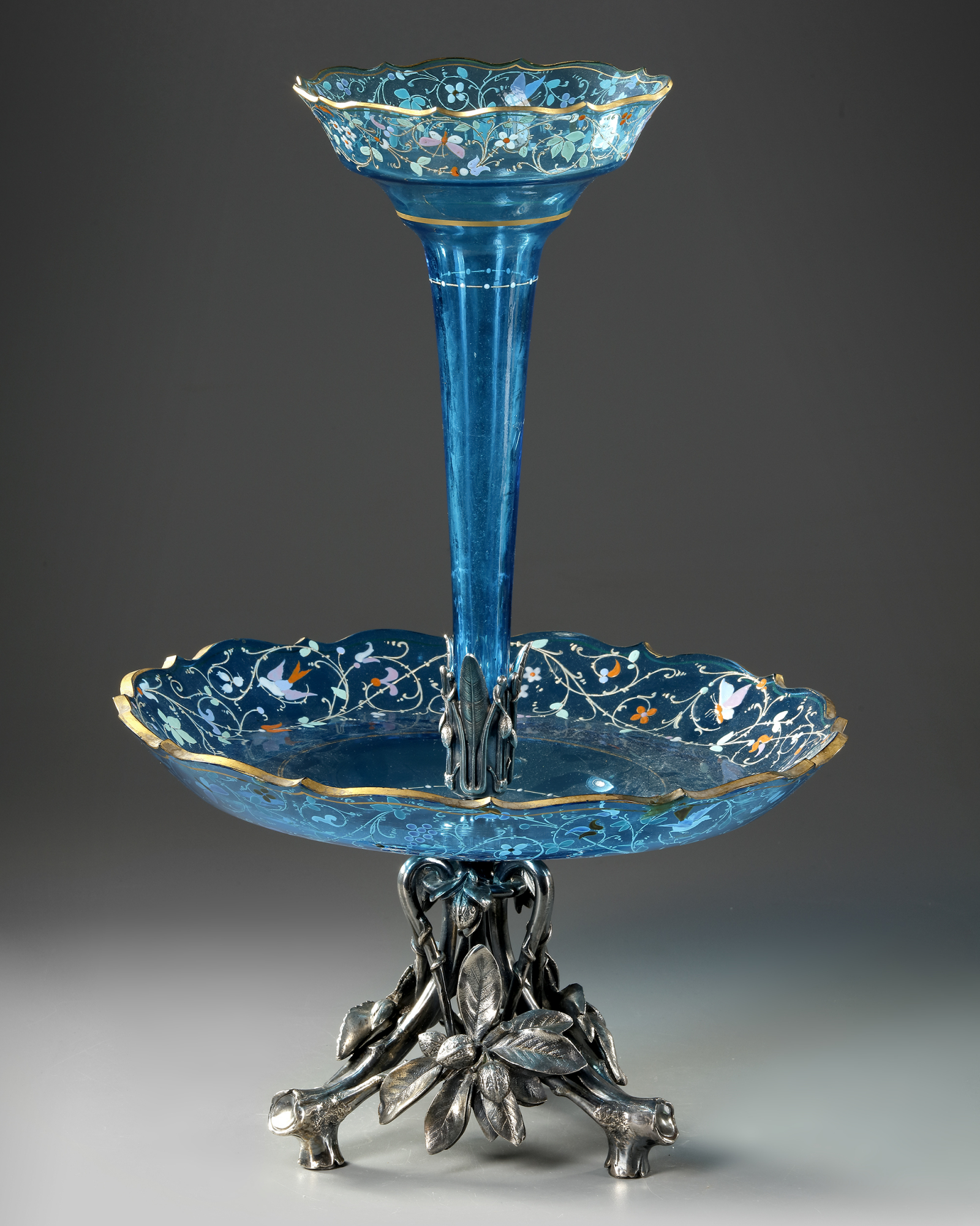 A SOLIFLORE CENTERPIECE, CIRCA 1870 - Image 3 of 4