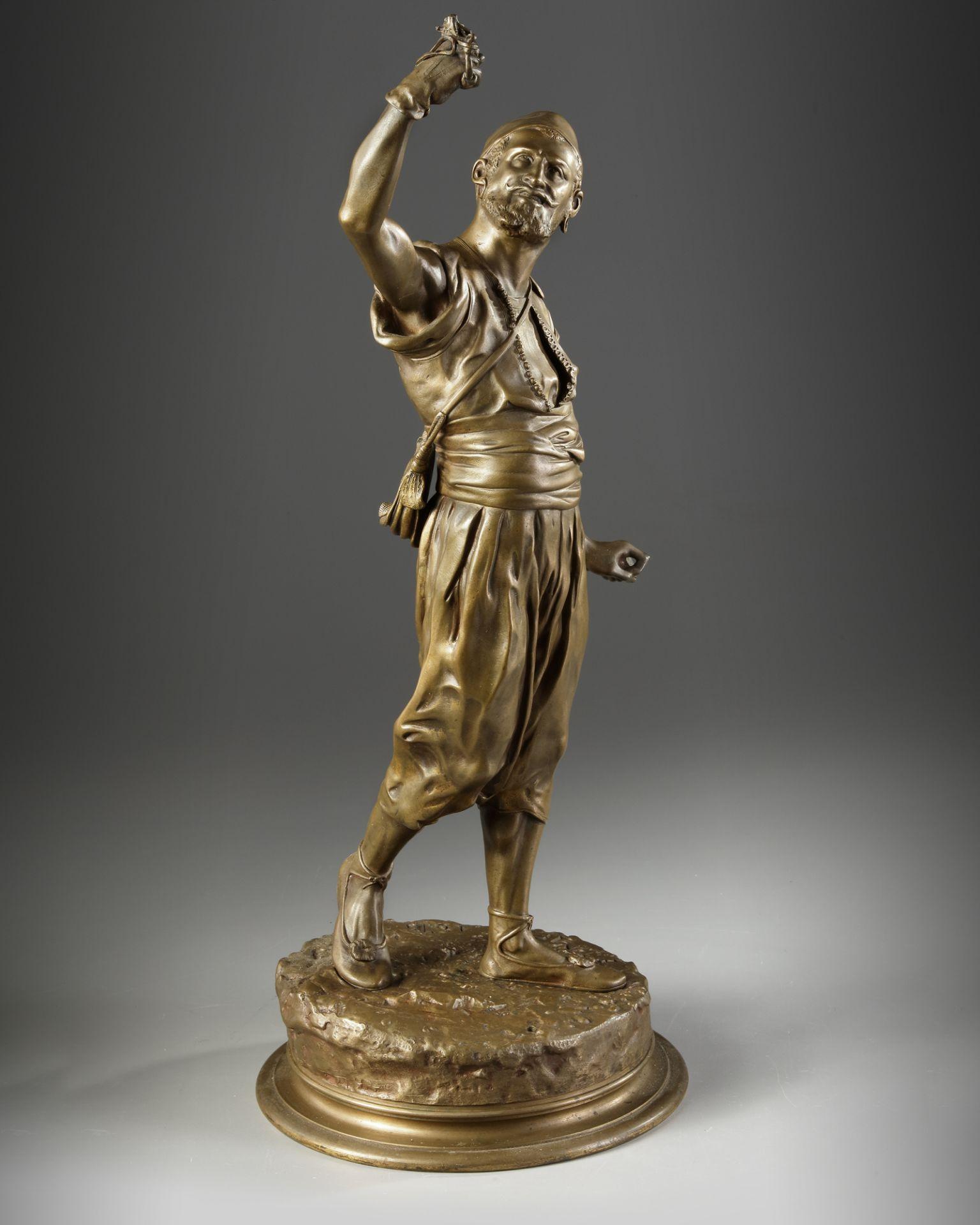 A BRONZE FIGURE, JULES MÈNE, 19TH CENTURY - Image 3 of 4