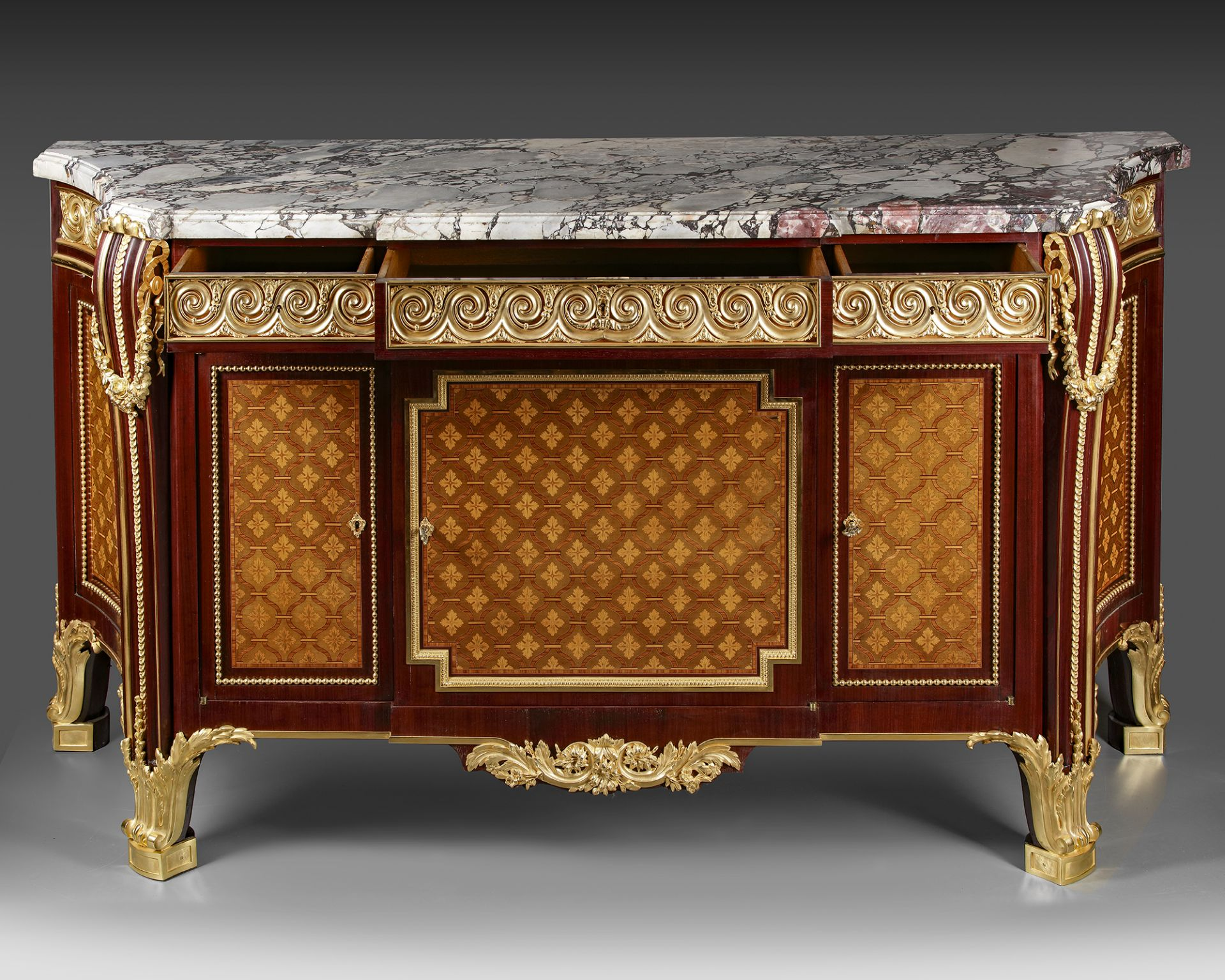A FRENCH CABINET, L GUENIÈRES JEUNE, LATE 19TH CENTURY - Image 5 of 8