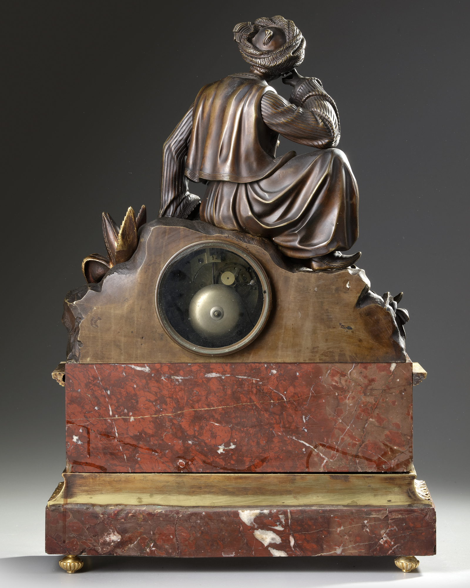 AN ORIENTALIST CLOCK, FRANCE, 19TH CENTURY - Image 3 of 5
