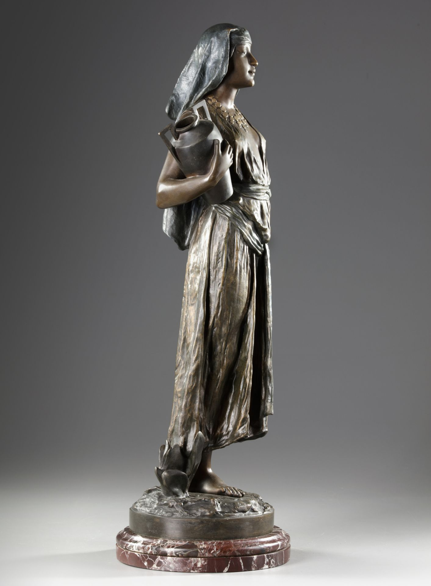 'THE WATER CARRIER', G. THILMANY, 20TH CENTURY - Image 3 of 6