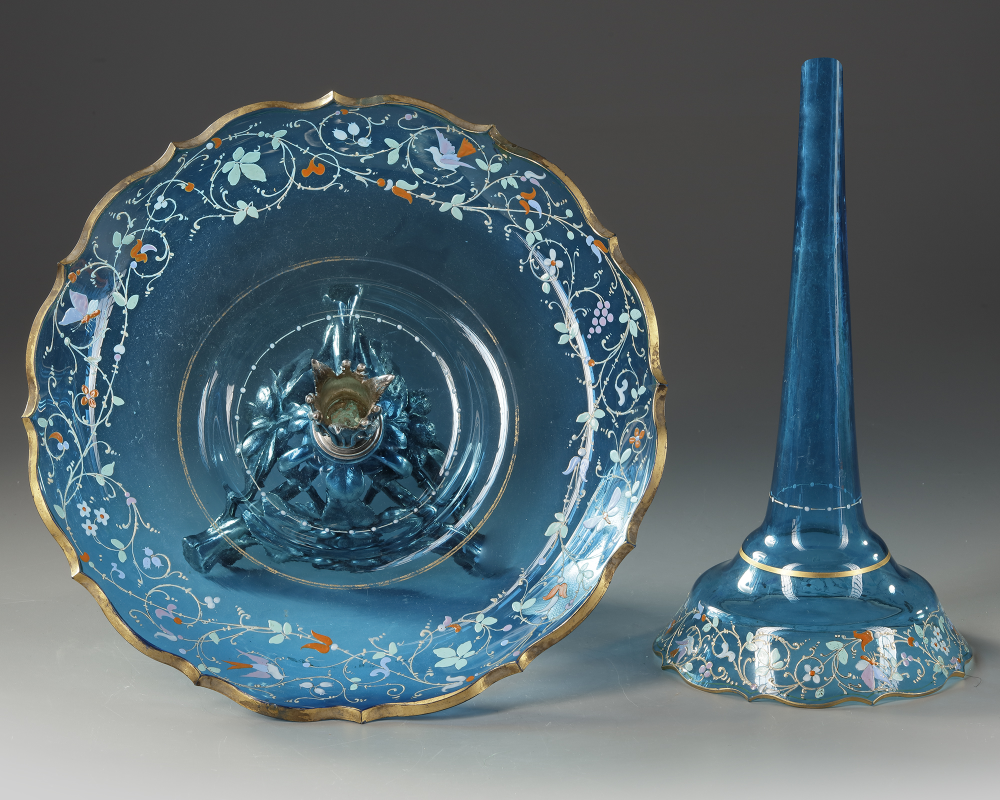 A SOLIFLORE CENTERPIECE, CIRCA 1870 - Image 4 of 4