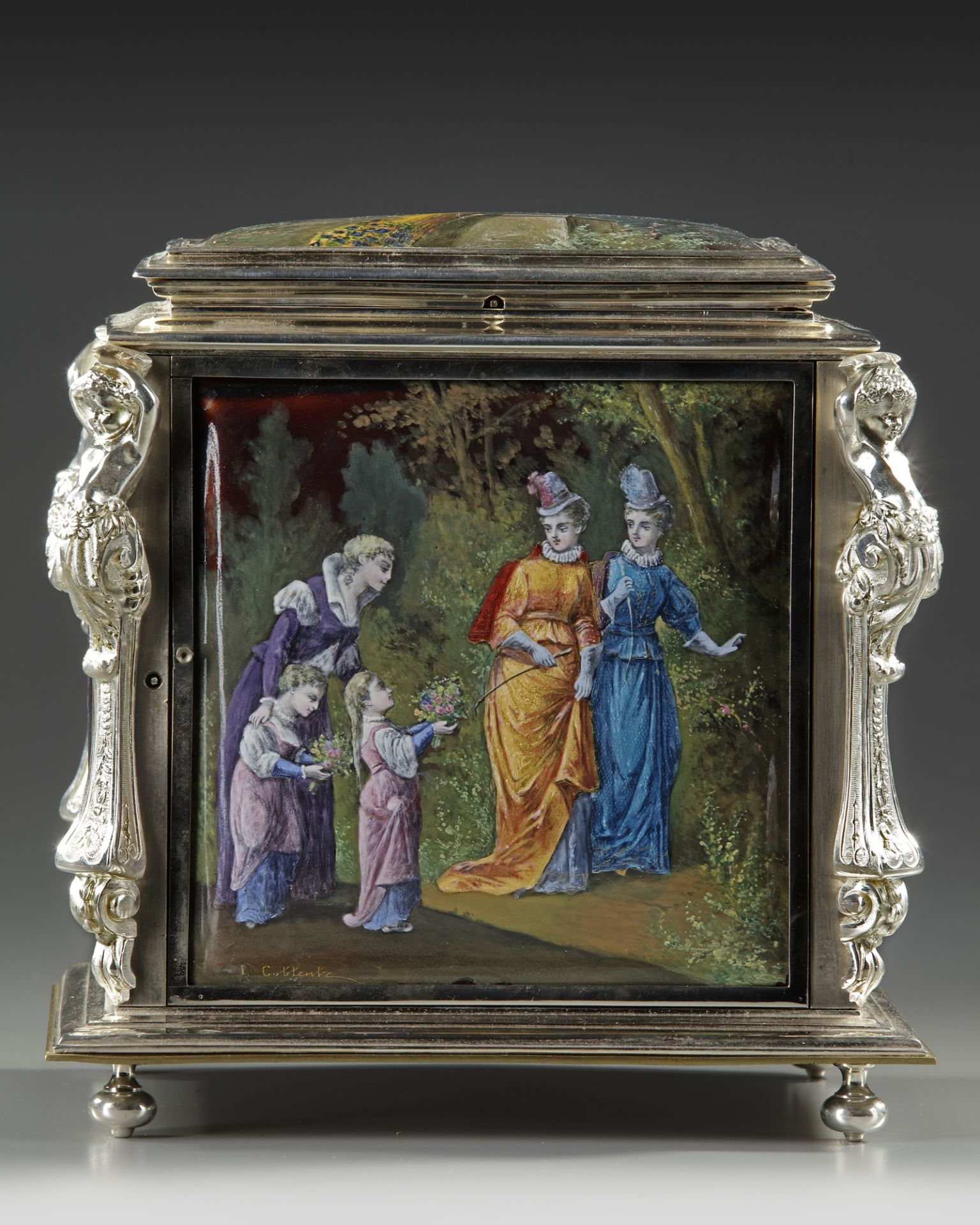 A JEWELRY BOX, FRANCE, LATE 19TH CENTURY - Image 5 of 5