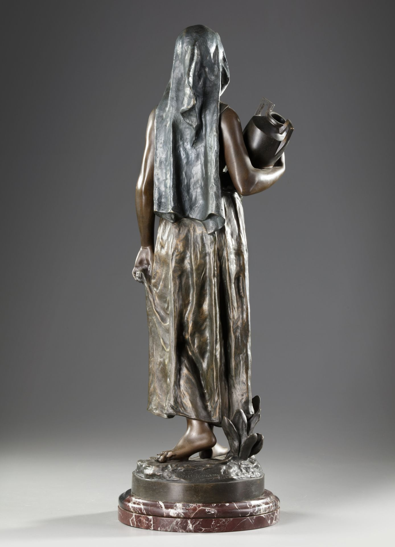 'THE WATER CARRIER', G. THILMANY, 20TH CENTURY - Image 4 of 6