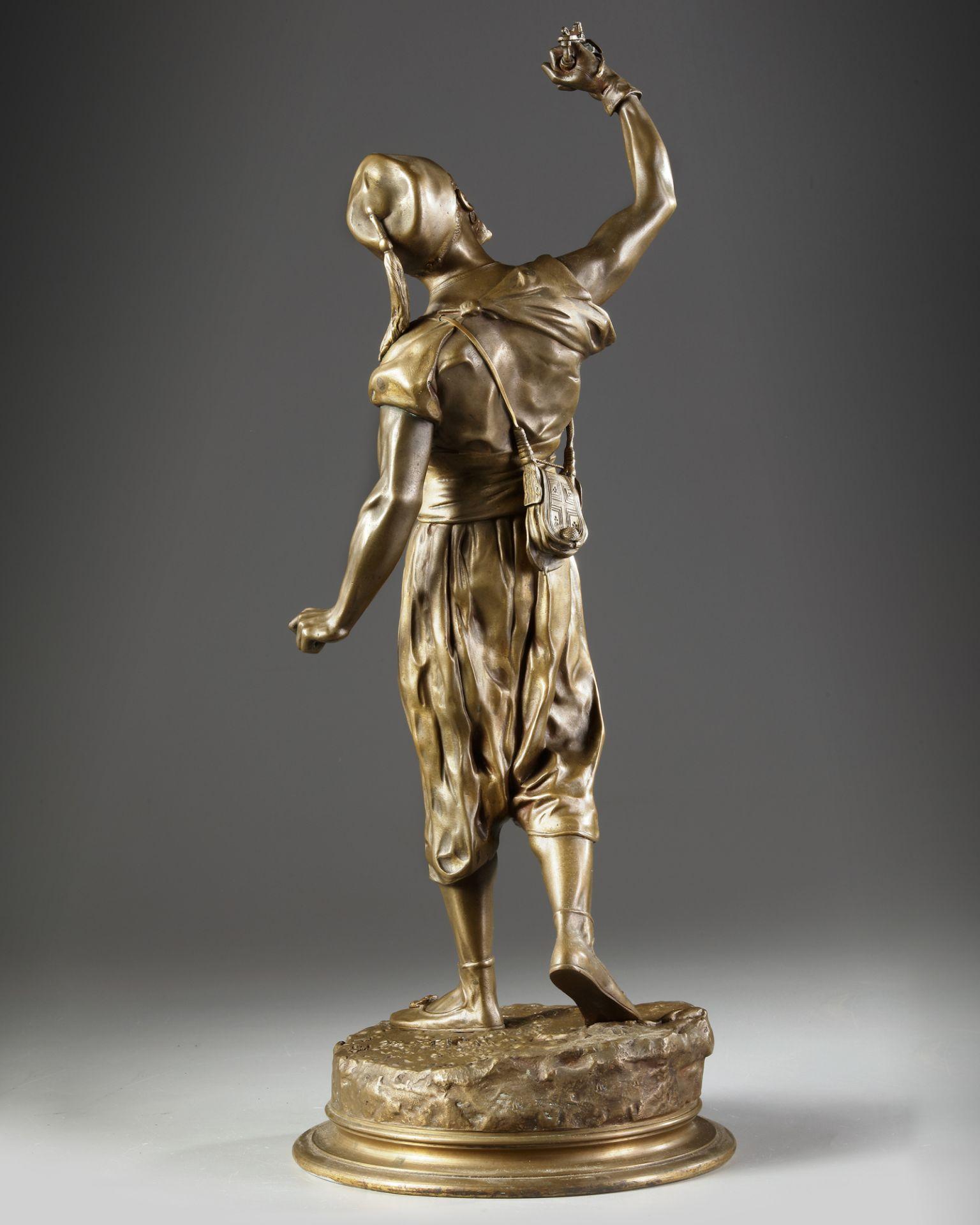 A BRONZE FIGURE, JULES MÈNE, 19TH CENTURY - Image 2 of 4