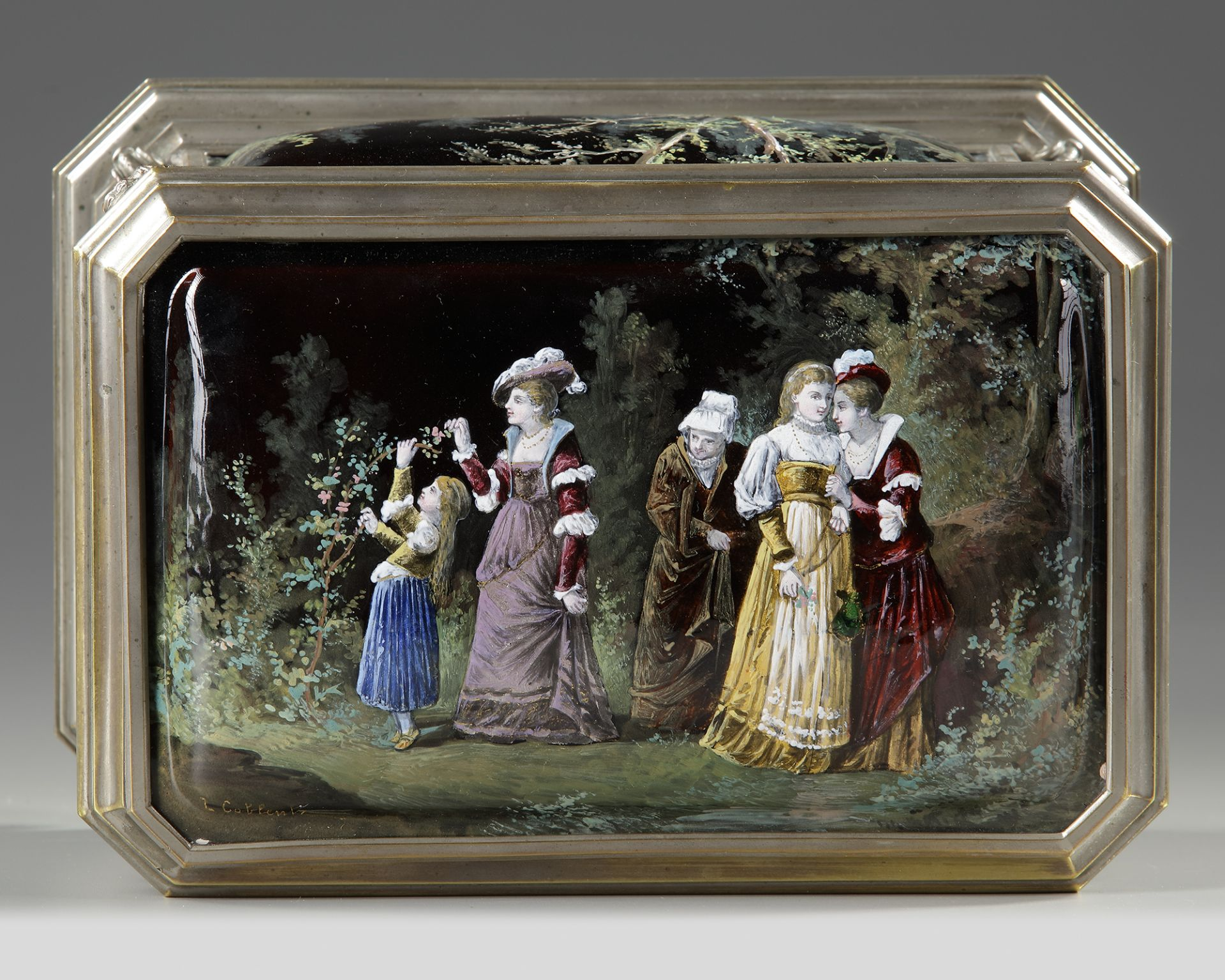 A JEWELRY BOX, FRANCE, LATE 19TH CENTURY - Image 2 of 4