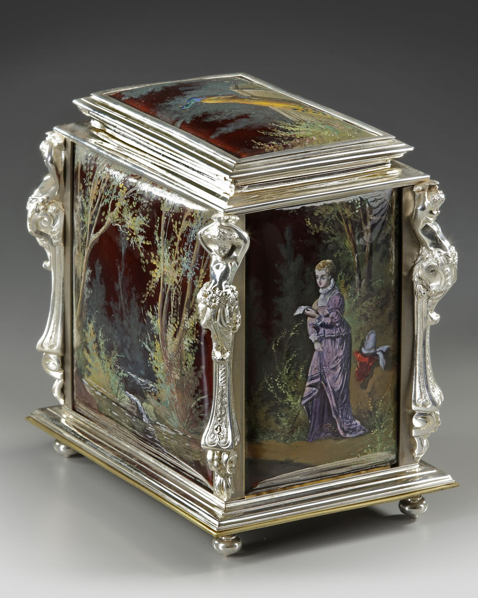 A JEWELRY BOX, FRANCE, LATE 19TH CENTURY - Image 2 of 5