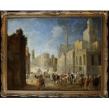 AN OIL ON CANVAS PAINTING, FLANDRES, 17TH CENTURY