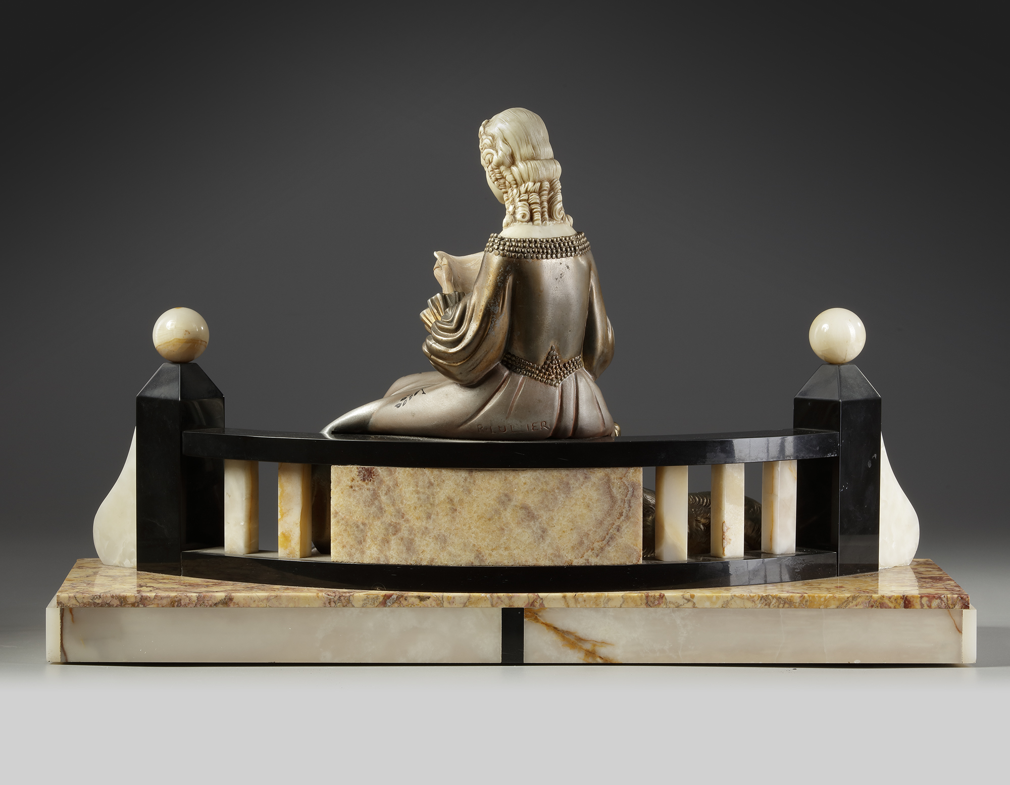 A FRENCH ART DECO STATUE, CIRCA 1925 - Image 2 of 4