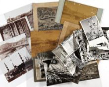 A MAGNIFICENT GROUP OF ORIGINAL PHOTOGRAPHS OF THE GREAT MOSQUE OF MECCA AND OTHERS, BETWEEN 1882-1