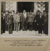 THREE RARE PHOTOS OF KING SAUD BIN ABDULAZIZ DURING 1950s