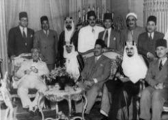 A VERY RARE COLLECTION OF SIX PHOTOS OF PRINCE MANSOUR BIN ABDULAZIZ AL SAUD (THE FIRST SAUDI MINIST