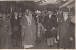FIVE RARE PHOTOGRAPHS OF KING ABDUL AL-AZIZ AL SAUD DURING HIS REALM, PROBABLY 1930-1940