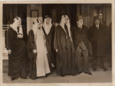 A COLLECTION OF RARE PHOTOGRAPHS OF HIS MAJESTY KING FAISAL BIN ABDULAZIZ AND KING KHALED BIN ABDULA