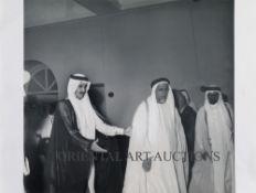 SEVEN UNIQUE AND RARE PHOTOS OF KING SALMAN BIN ABDULAZIZ (KING OF SAUDI ARABIA) WHEN HE WAS PRINCE,