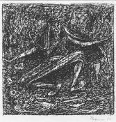 Cremer, Fritz. aus dem Zyklus Walpurgisnacht, Blatt 17: Trödelhexe