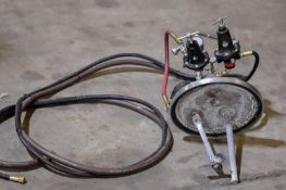 Bucket Top Agitator And Sprayer System W/ Gauges