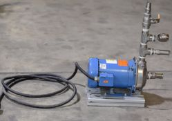 Goulds 1MS1E5C4 Stainless Steel Pump, Electric Motor 3 Phase