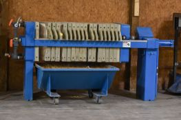 JWI J-Press Plate Filter Press - SUBJECT TO BULK LOT