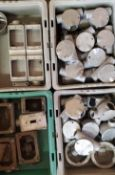 (4) Trays of Junction Boxes
