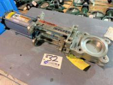 """DeZurik 3"""" Stainless Knife Gate Valve with Ram Drive, Part No. 9520186 NEW"""