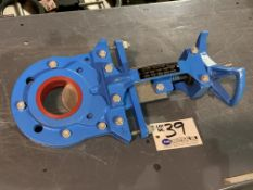 """VAAS 3"""" Stainless Knife Gate Valve with Wheel"""