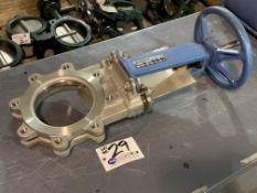 """DeZurik 6"""" Knife Gate Valve Stainless Steel, Part No. 9275922 NEW"""