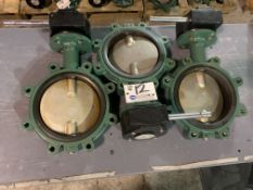 """(3) 8"""" Stainless Gate Valves with Worm Drive NEW"""