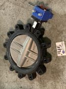 """Value Valves USA 11.5"""" Stainless Knife Gate Valve with Worm Drive NEW"""