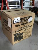 Justrite 14gal Oily Waste Rag Can New In box