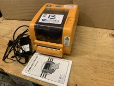 DuraLabel PRO 300 USB 300PI Thermal Label Printer with instructions