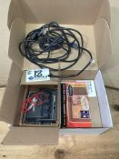 Lowrance X135 200khz Fish Finder with box, instructions