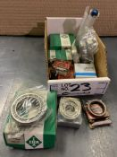 Assorted Barden, Federal Mogul, INA Bearings New In Box