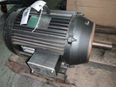 Lincoln TEFC 20HP Motor, 1750RPM