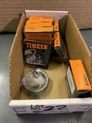 Assorted Timken Tapered Roller Bearings New In Box